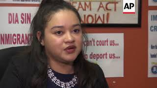 Salvadorans in the US speak out amid deportation fears