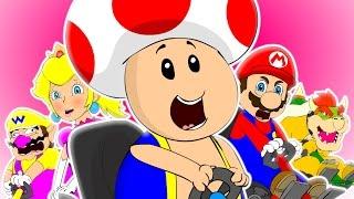 ♪ MARIO KART THE MUSICAL - Animated Parody Song