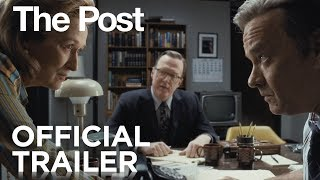 The Post   Official Trailer [HD]   20th Century FOX