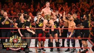 WWE United Kingdom Champion Tyler Bate celebrates his historic victory: Exclusive, Jan. 15, 2016