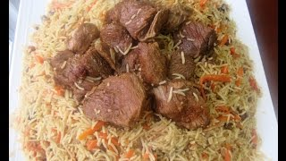 Rice , kabuli pulao ,( qabili, pulao palaw mazari )Uzbeki  pulao recipe