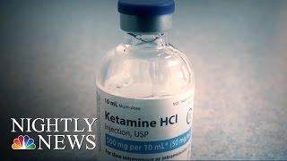 Doctors Say 'Club Drug' Ketamine Rescues Suicidal Patients | NBC Nightly News