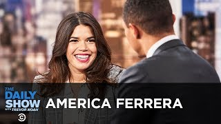 """America Ferrera - Standing with Christine Blasey Ford & """"American Like Me"""" 
