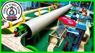 Thomas and Friends MASSIVE TUBE TUNNEL!