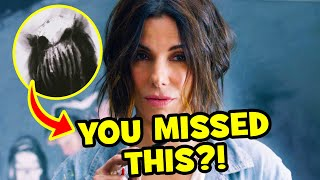 7 Monstrous THINGS YOU MISSED In Bird Box!