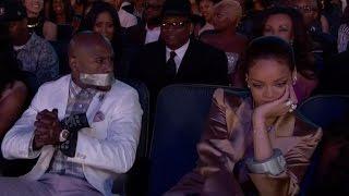 Rihanna Tapes Floyd Mayweather