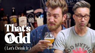 Rhett & Link Taste a Beer Made with Human Saliva | That