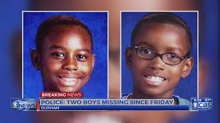 Durham police search for 2 boys last seen July 21