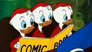 Uncle Donald with Huey, Dewey & Louie - Disney Classic Collection!