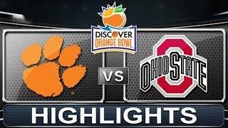 Clemson vs Ohio State   Orange Bowl   ACC Football Highlights