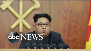 North Korean leader says he