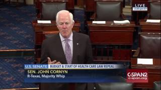 Cornyn: Budget Vote First Step Towards Relief from Obamacare