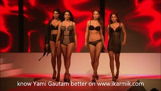 Yami Gautam in Hot Lingerie & Beachwear Fashion show
