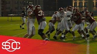 Alabama Crimson Tide practice intensifies| SportsCenter | ESPN