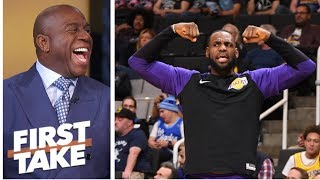 Magic Johnson: Showtime is back, not only in L.A. but around the NBA   First Take