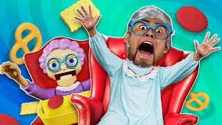 GREEDY GRANNY IN REAL LIFE CHALLENGE!