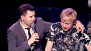 Michael Buble duets with 15 year old boy on