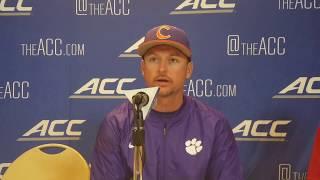 TigerNet.com - 2017 ACC Baseball Championship postgame vs Duke