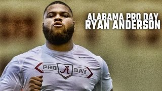 Watch Ryan Anderson Alabama Pro Day