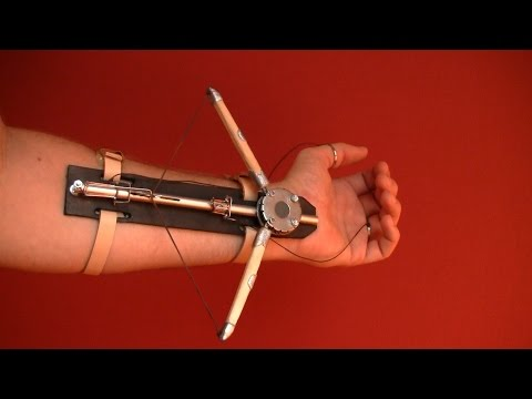 Скрытый клинок ассасина своими руками фото