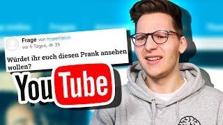 Leute stellen komische Fragen über YouTube