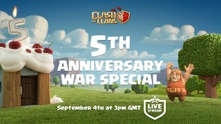 Clash of Clans - 5th Anniversary War Special Coming Soon!
