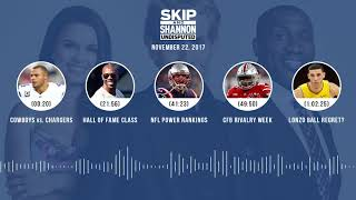 UNDISPUTED Audio Podcast (11.22.17) with Skip Bayless, Shannon Sharpe, Joy Taylor | UNDISPUTED