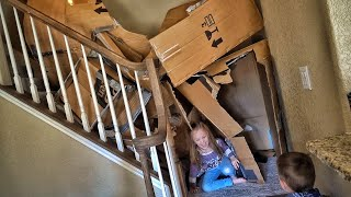 Destroying The House While Mere is Away...
