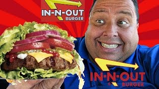 In-N-Out® Protein Style Cheeseburger REVIEW!