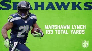 Marshawn Lynch Highlights from 183-Yard NFC Championship Game | Packers vs. Seahawks (2014) | NFL