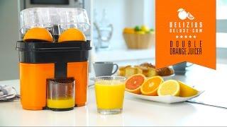 Electric Double Orange Juicer - Delizius Deluxe