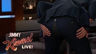 Nick Kroll Splits His Pants During Kimmel Interview