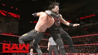 Roman Reigns battles both members of The Miztourage: Raw, Jan. 15, 2018
