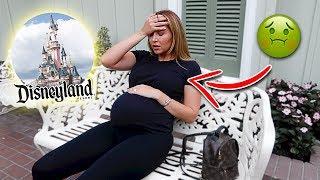CATHERINE GETS SICK AT DISNEYLAND!!!