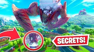 7 SECRETS hidden by Epic in the Robot vs Monster event!