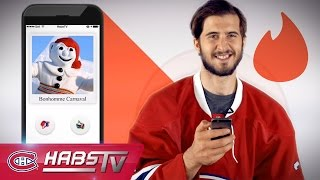 If Phillip Danault were on TINDER: Bonhomme Carnaval, Star Wars + more