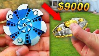 $1 FIDGET SPINNER Vs. $1000 ULTIMATE FIDGET SPINNER!!