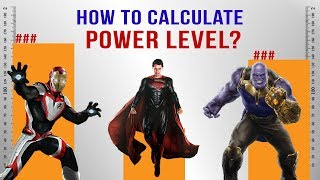 How to Calculate Power Levels
