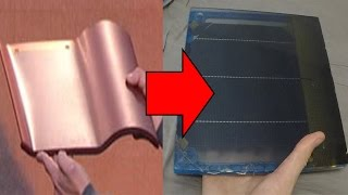 HOW TO: DIY Tesla Solar Roof Panel