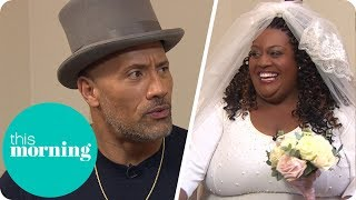 Dwayne Johnson Follows Through on His Promise to Marry Alison! (Extended) | This Morning