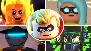 LEGO The Incredibles - All Bosses