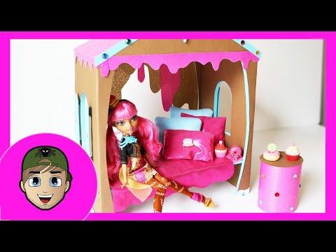 Как сделать дом для куклы эвер афтер хай