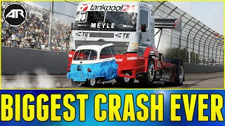 Forza 6 Online : BIGGEST CRASH EVER!!!