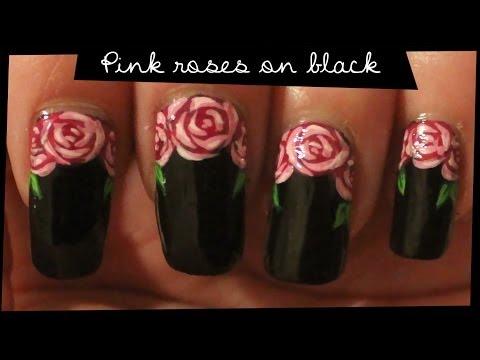 Гель лак роза дизайн