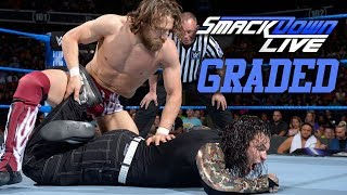 WWE Smackdown Live: GRADED (22 May) | Daniel Bryan vs. Jeff Hardy