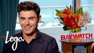 Will Zac Efron Be the Next Drag Race Queen? | Baywatch (2017 Movie)