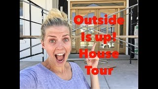 HOUSE TOUR! OUTSIDE IS UP AND WE HAVE AN ANNOUNCEMENT ABOUT THE HOUSE