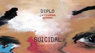 Diplo - Suicidal (feat. Desiigner) (UNKWN Remix) (Official Audio)