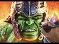 Drawing HULK THOR RAGNAROK  | Marvel Uni...mp3