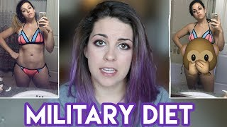 "I Tried The ""Military"" Diet For A Week"